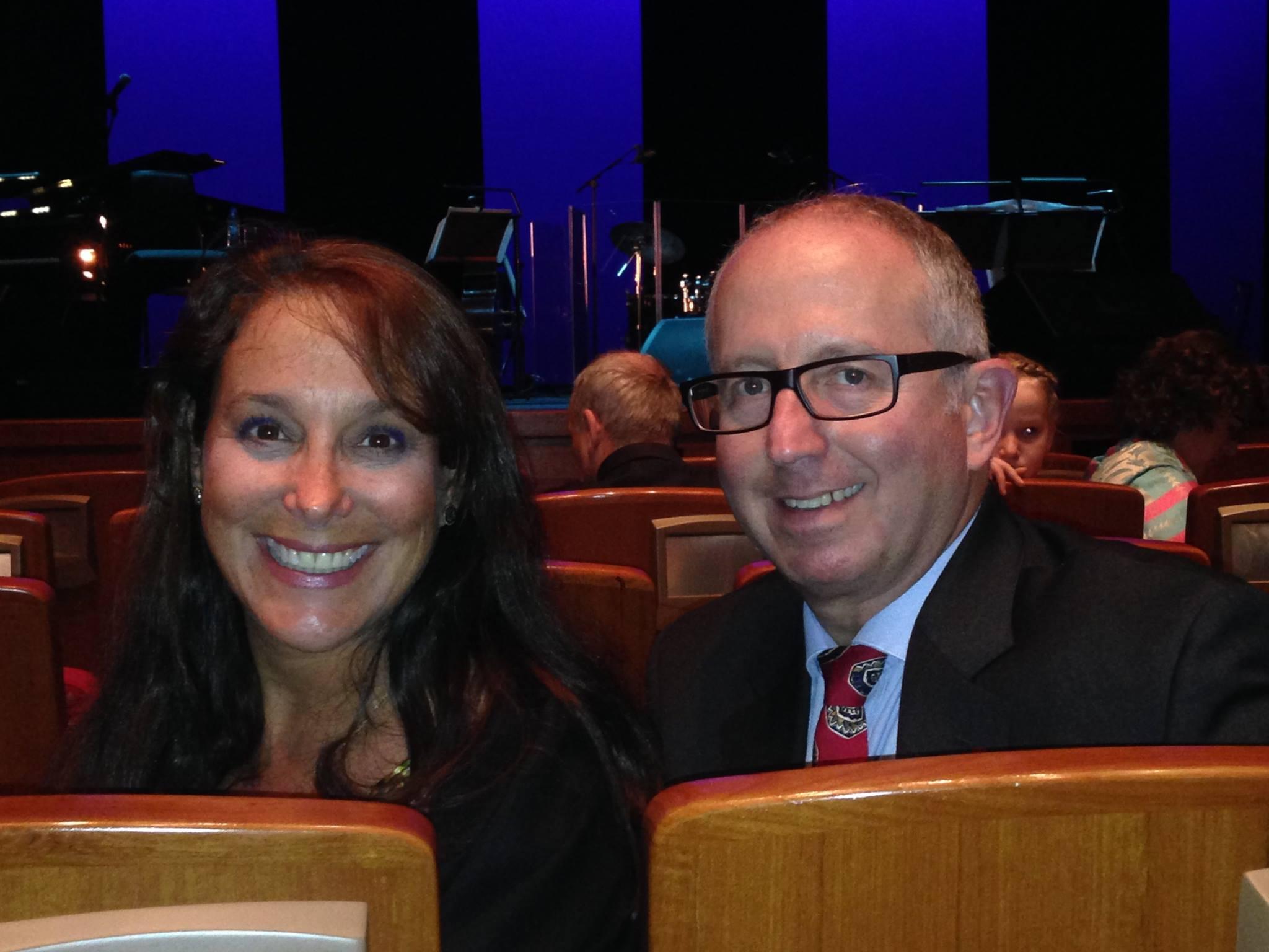 Denise & Mark at Royal Opera Muscat, Oman