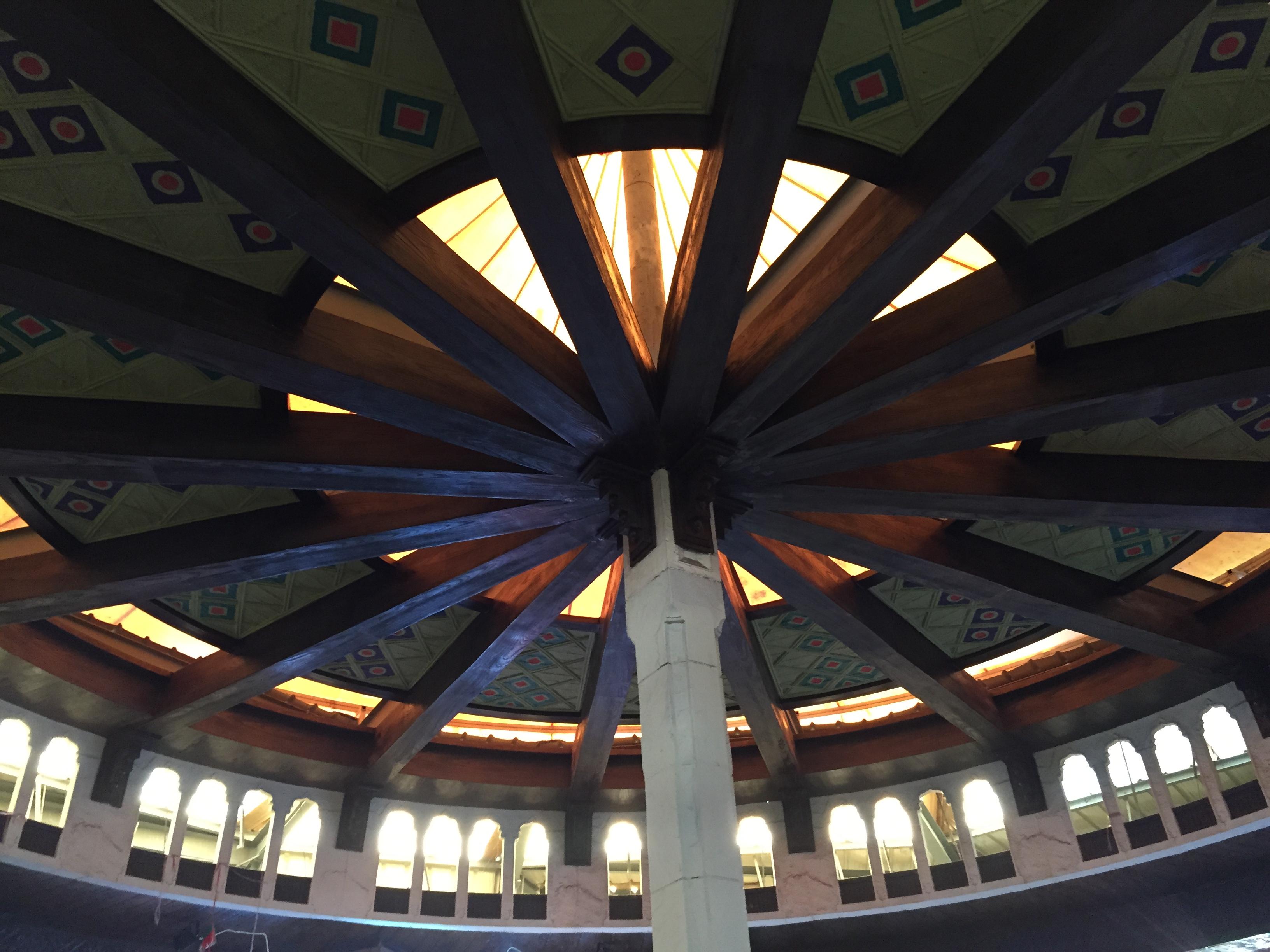 beautiful roof of Souq