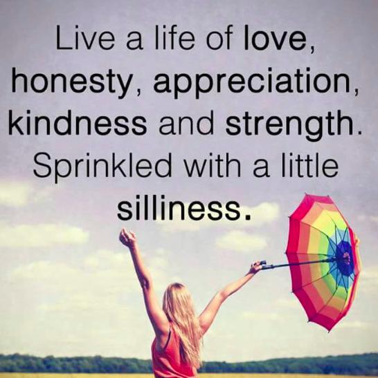 love honesty etc
